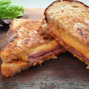 Bacon & Cheese Toastie
