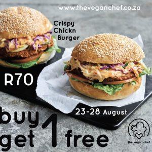 Crispy Chickn Burger- Buy One Get One Free